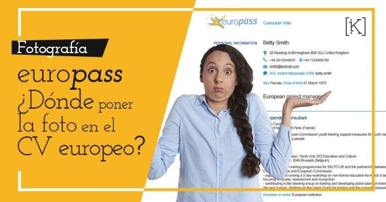 foto curriculum europass