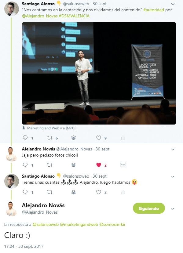 networking en twitter